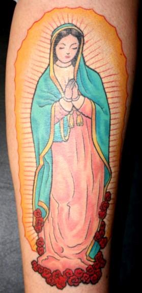 Brevirio tatuagens de nossa senhora anjos e santos altavistaventures Image collections