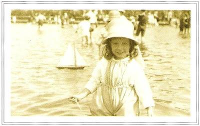 Children's model yacht pond