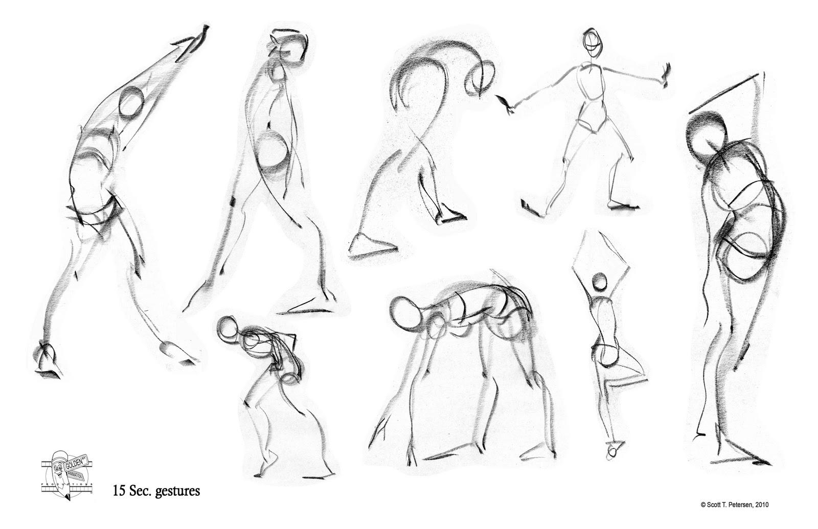 Scott T. Petersen's Figure drawings