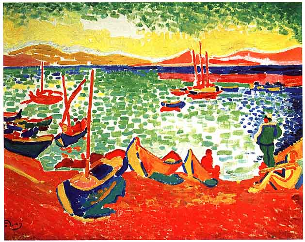 This is nice yeah Andr Derain in Collioure 1905