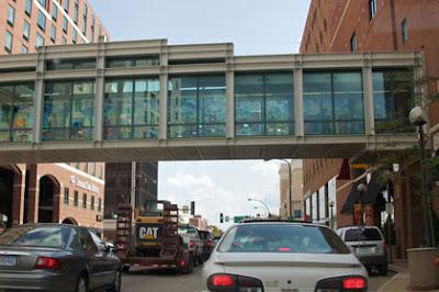 Walkway in Rochester, MN