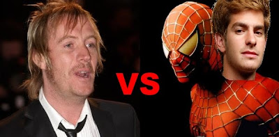 Rhys Ifans as the villain in the new Spiderman movie