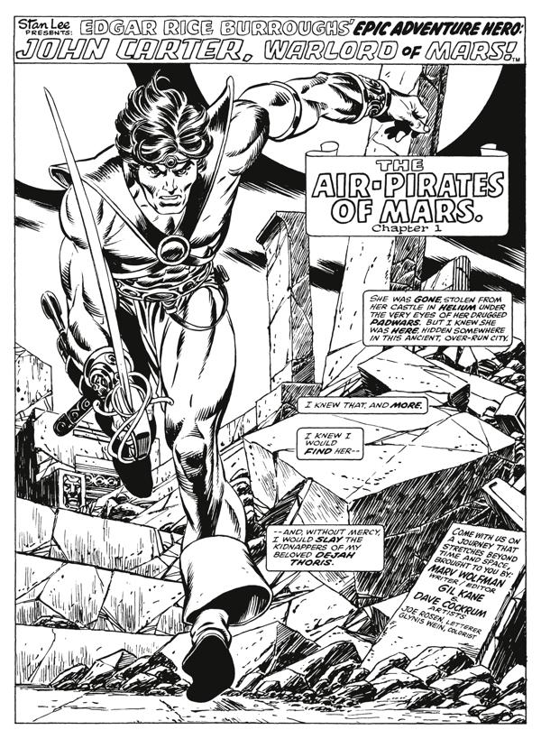 marooned science fiction fantasy books on mars sneak peek at Sunbelt City 1970 edgar rice burroughs john carter of mars warlord of mars dark horse 2011