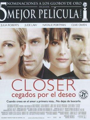 Cegados Por El Deseo – Closer (2004) | DVDRip Latino HD GDrive 1 Link