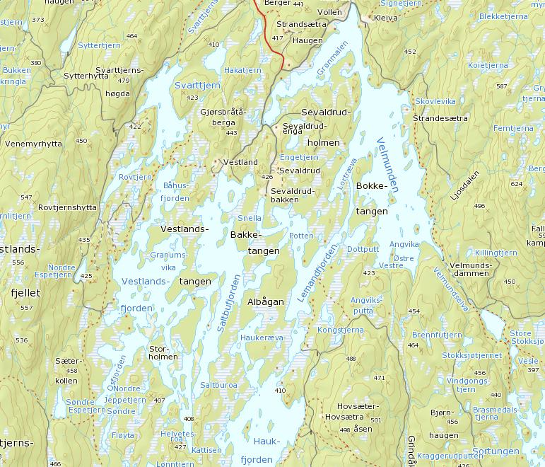 kart fjorda CruxKajakk: Fjorda mai 2009 kart fjorda
