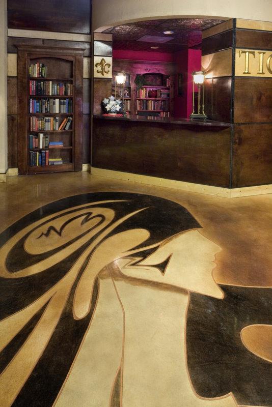 Epo Floors Nashville Dinner Theater With Concrete
