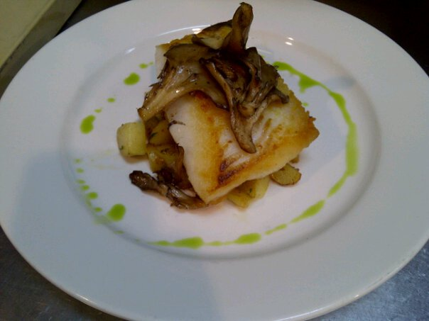 Eating Fabulously, Christopher Stewart, cod, mushrooms, potatoes, recipe