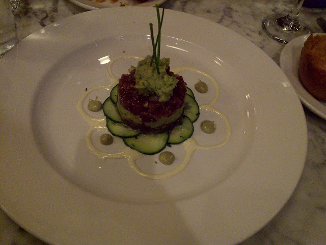 Eating Fabulously, Christopher Stewart, Brasserie 360 Restaurant Review,