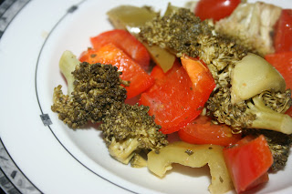 very easy recipe for making a side of seasoned vegetables in the slow cooker