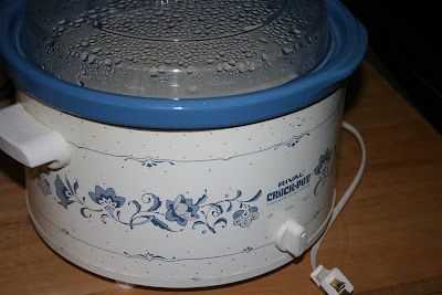 crock pot making homemade yogurt