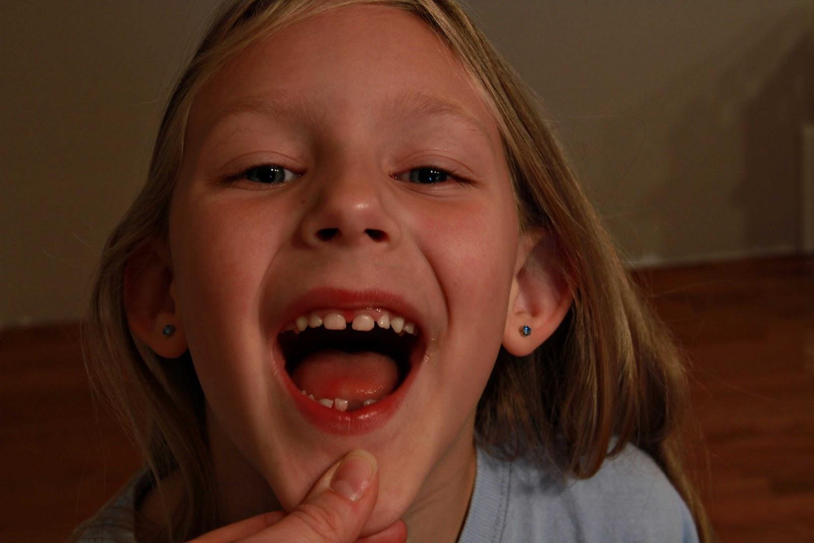 Cum on teeth