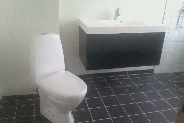 silvan badeværelse hallie handywoman: Klinker og det færdige badeværelse (næsten) silvan badeværelse
