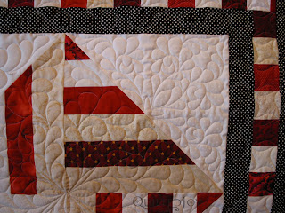 Peppermint Swirl Quilt by Angela Huffman - QuiltedJoy.com