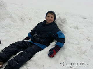 Snow Day with the Kidlets! - QuiltedJoy.com