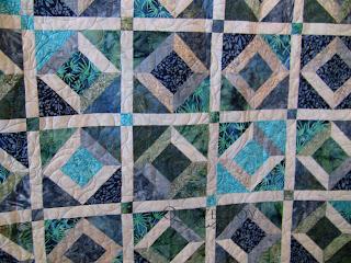 Blue Batiks - QuiltedJoy.com