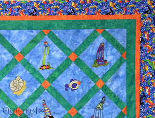 Faye's Lighthouse quilt, waiting in the wings