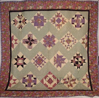 Block of the Month, quilted by Angela Huffman