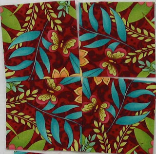 Exploring the different block designs we can create with the same fabric - QuiltedJoy.com