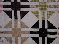 Debbie's Crystal Beauty, with custom quilting by Angela Huffman - QuiltedJoy.com