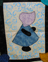 Design ideas for a Sunbonnet Sue - QuiltedJoy.com