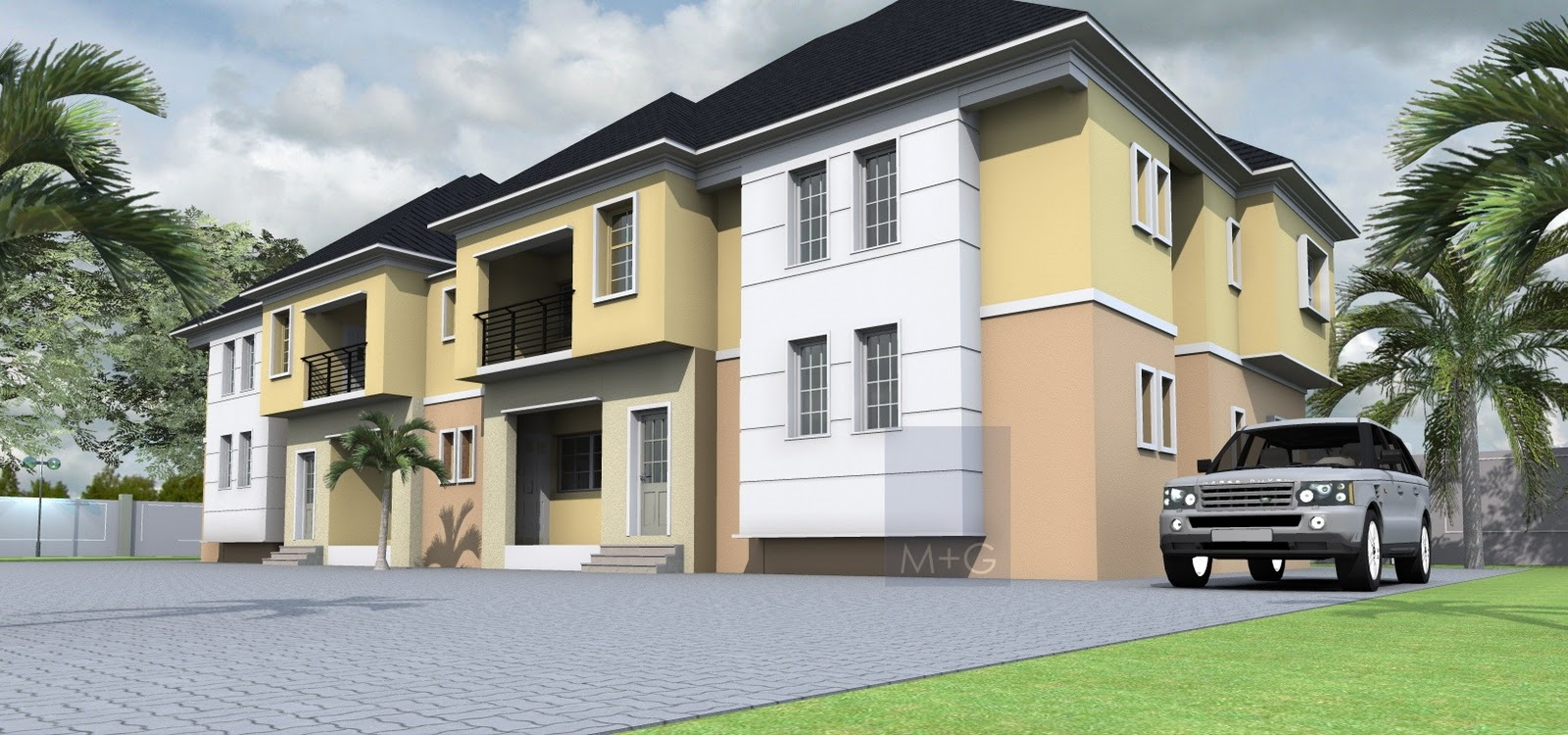 Contemporary Nigerian Residential Architecture: 3 bedrooms ...