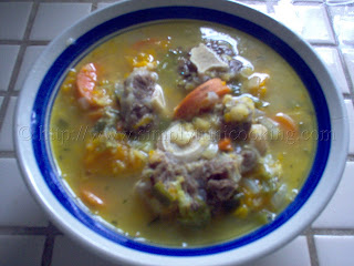Trini Ox Tail Soup