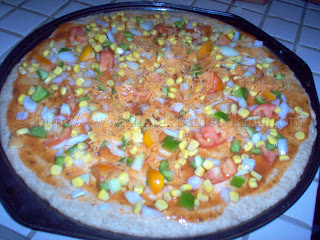 Trini Wholewheat Pizza