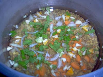 Lentil Peas and Rice