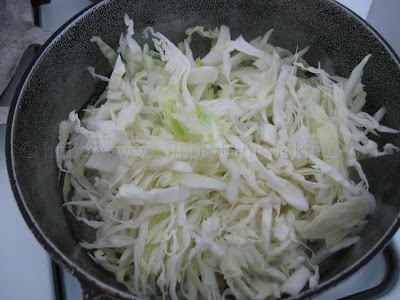 Bake and Fry Cabbage