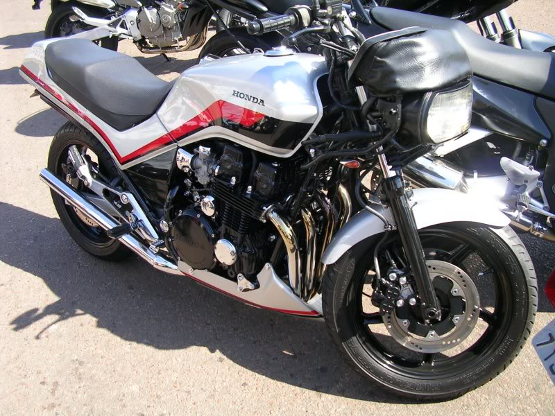 moto honda 7 galo antiga