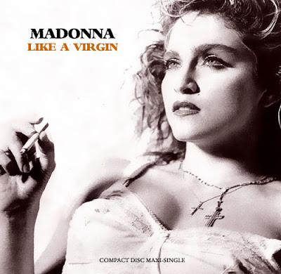 Lyrics of like a virgin by madonna