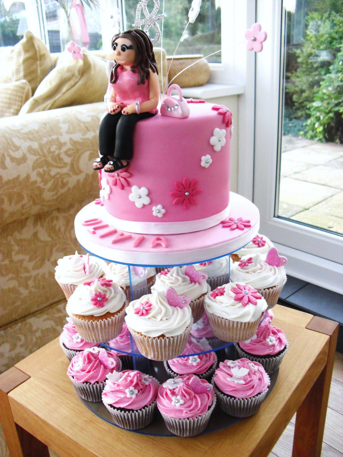 Cake Walk: Olivia's 18th Birthday Cake