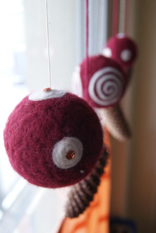 Fabulous Filz und Garten - Gartenblog: Kugeln im Fenster QE79