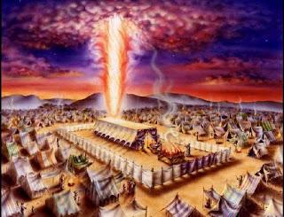 Resultado de imagem para figura nuvem no tabernaculo