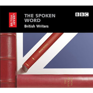 copertina The Spoken Word British Writers cd pubblicato dalla British Library