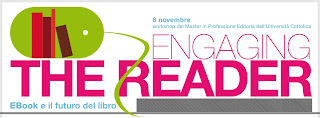 logo convegno engaging the reader università cattolica