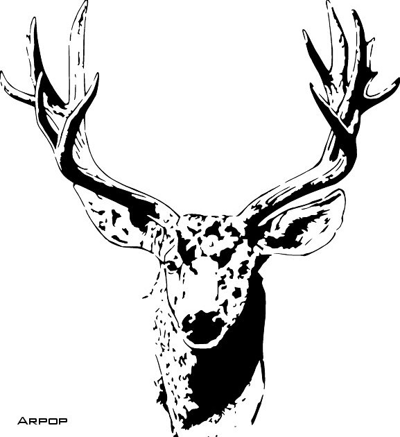 Texas Scroll Saw Patterns: Mule Deer