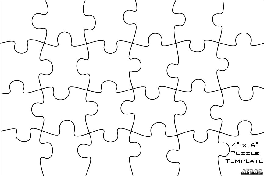 jigsaw puzzle template for word - puzzle piece patterns free patterns