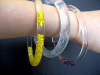 Plastic Beaded Bracelets