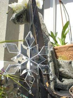 Glitzy Glass Stars