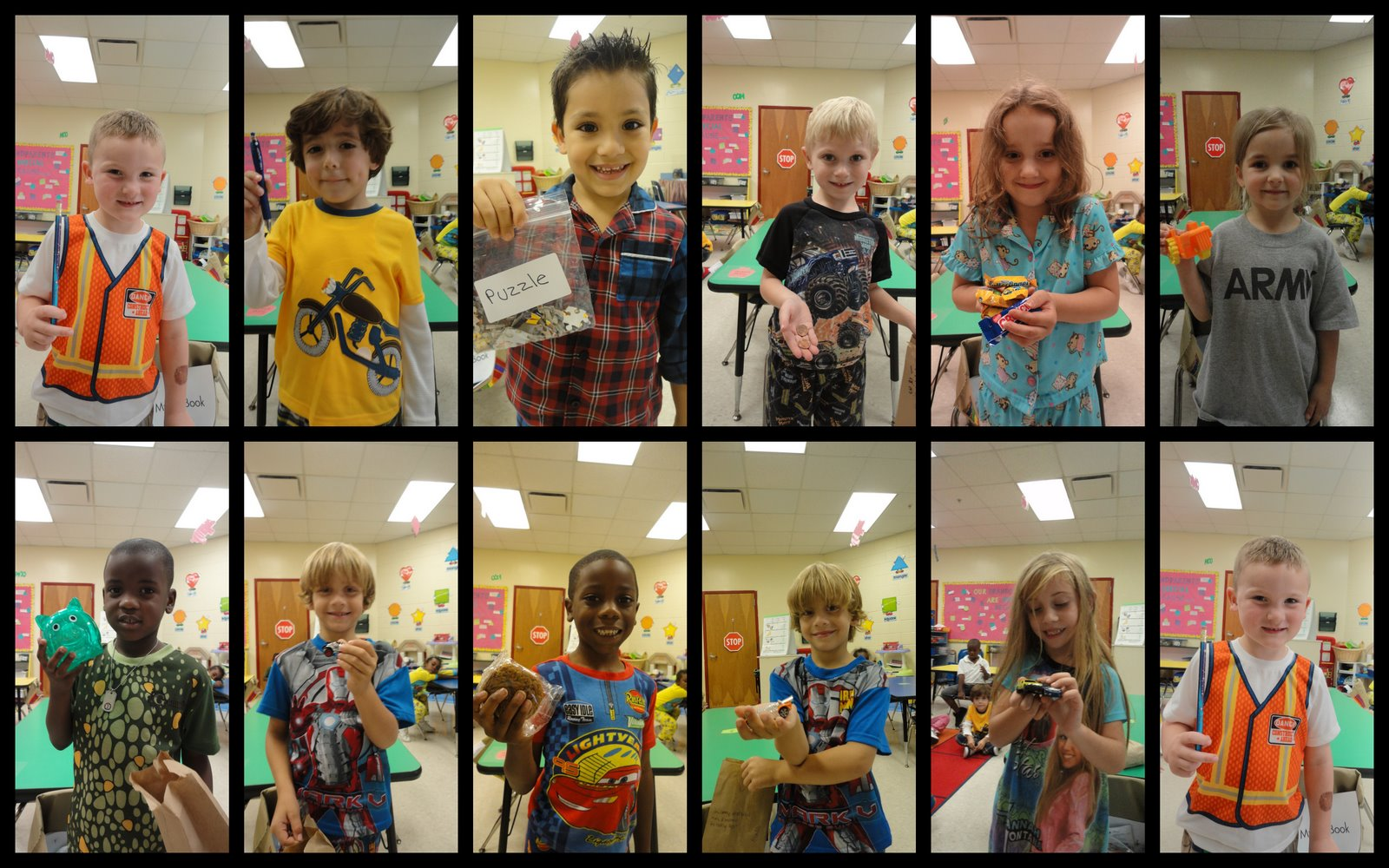 Mrs. Abraham's Kindergarten Class: Friday, September 17