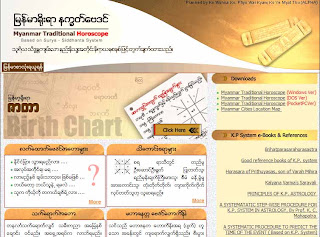 Myanmar Traditional Horoscope - Knowledge is Free