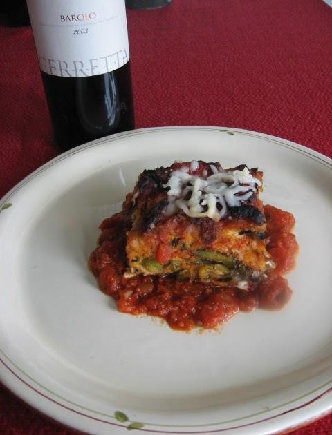 Trevelyan's The Gourmet Vegetarian: Egg Roll Lasagna ...
