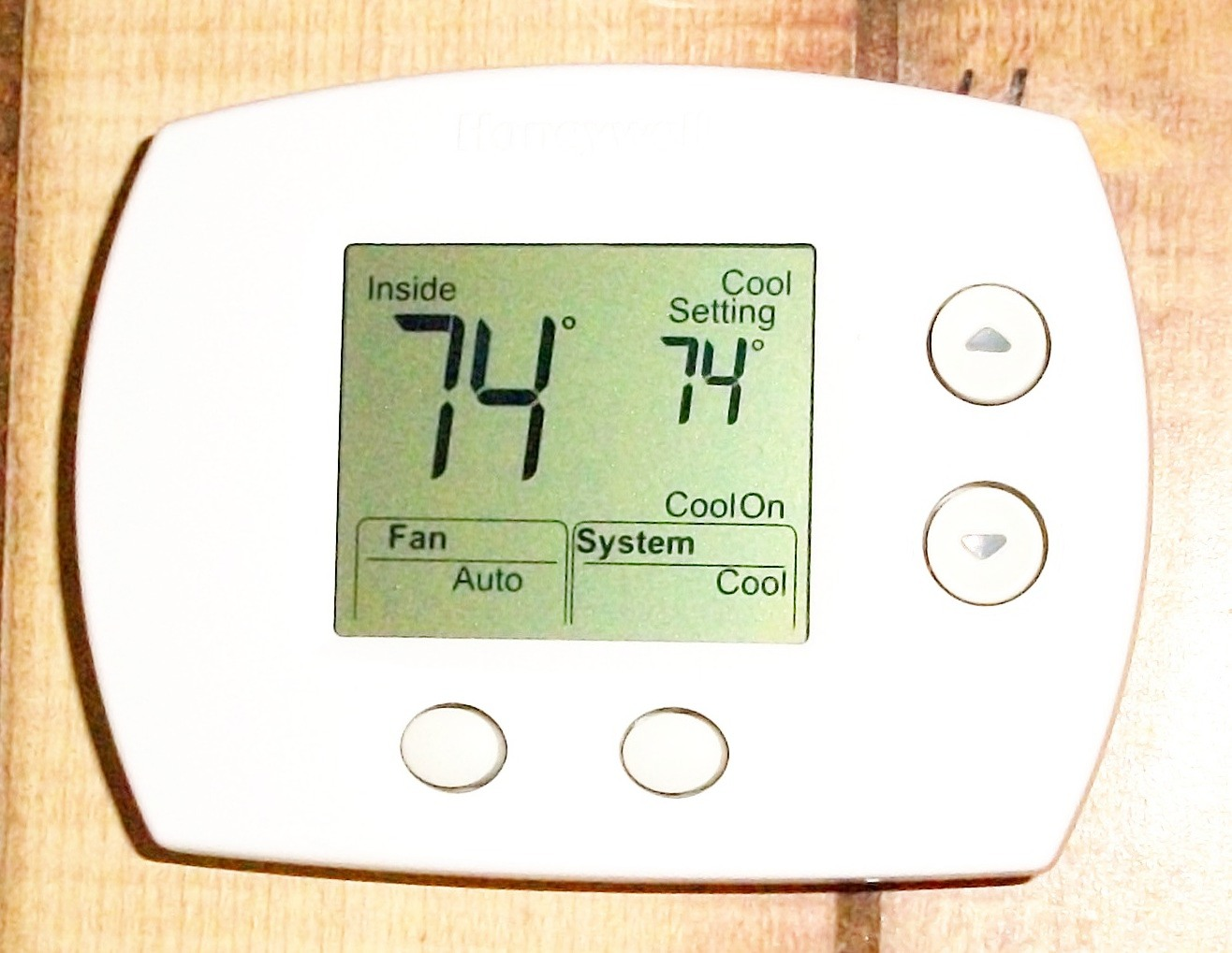 cabin talk: thermostat on the rise