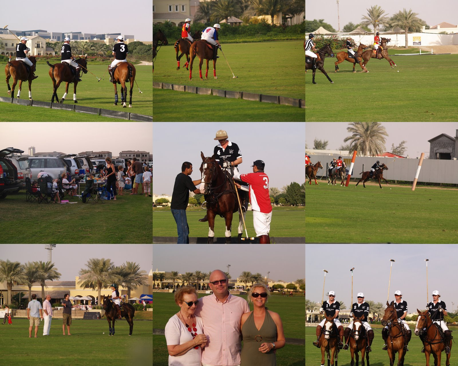 Cocktail Stoeltjes Go Dubai!: Picknick At The Polo