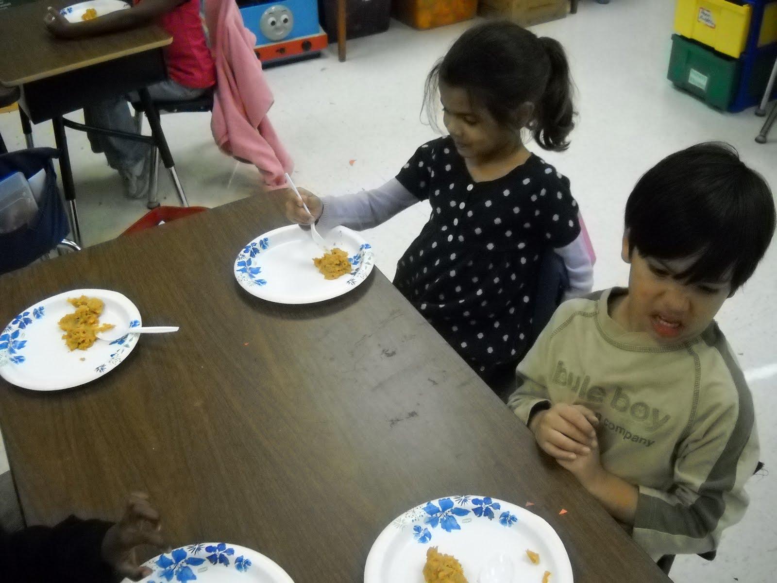 Kinder Garden: Mrs. Wood's Kindergarten Class: Food Tasting