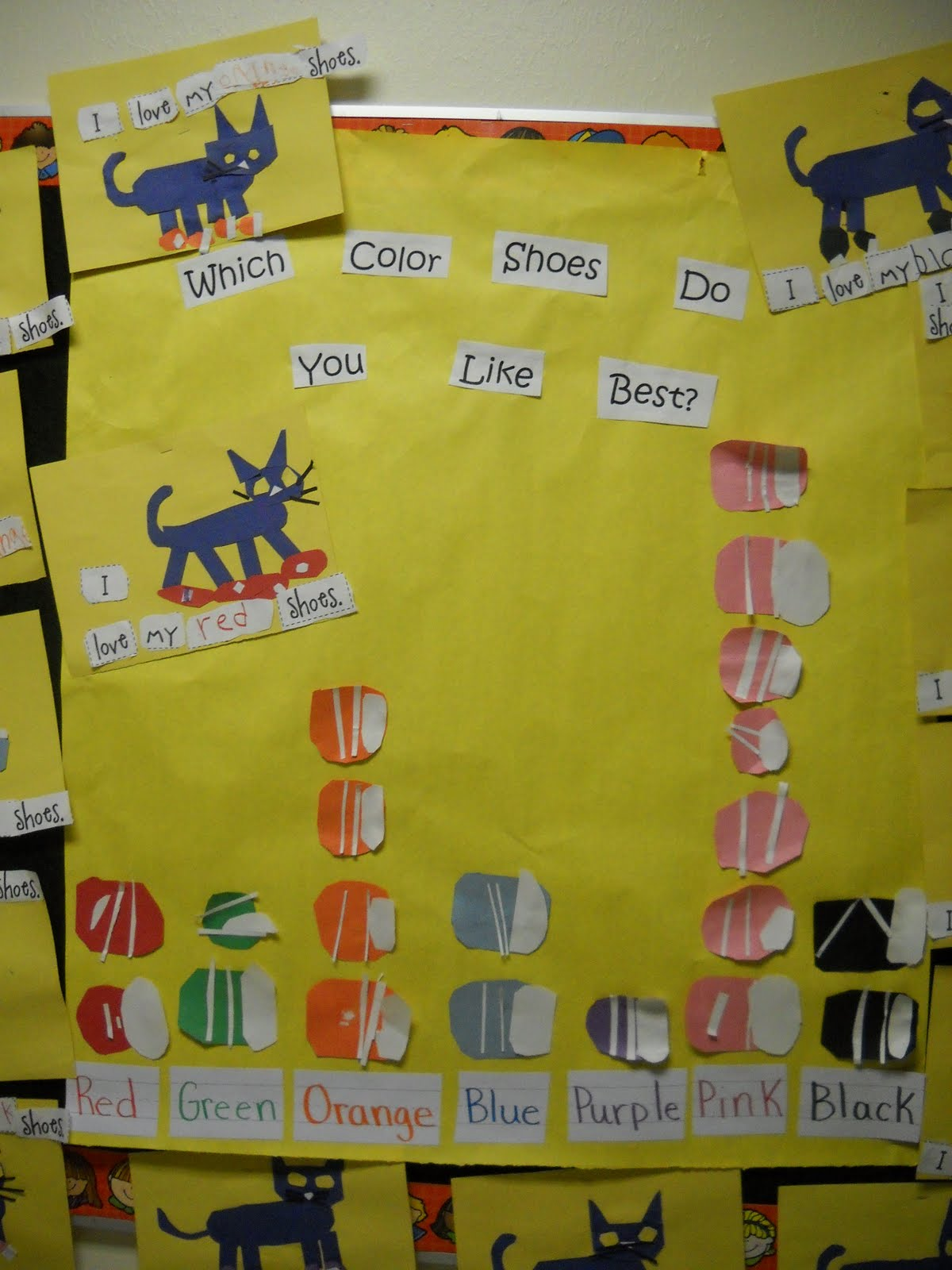 Mrs Wood S Kindergarten Class Pete The Cat