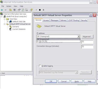raj webjunky: SMTP problem with BizTalk Server ( 550 5 7 1 Unable to