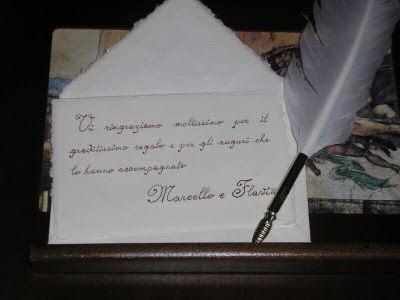 Frasi Matrimonio Telegramma.Matrimonio E Matrimoni Biglietti Di Ringraziamento Dopo Il