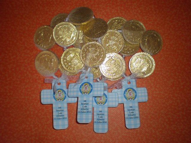 Bolos Para Bautizo Con Monedas.Para Monedas De Chocolate Imagui